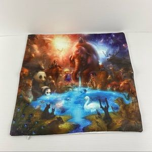 Fairy Forest 45x45cm Polyester Cushion Cover